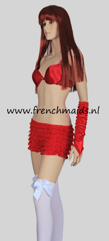 Panty Slip Frilly Lace for French Maids Costume - photo 2.