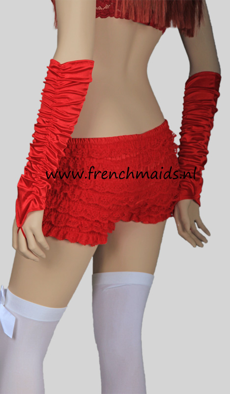 Panty Slip Frilly Lace for French Maids Costume - photo 6.