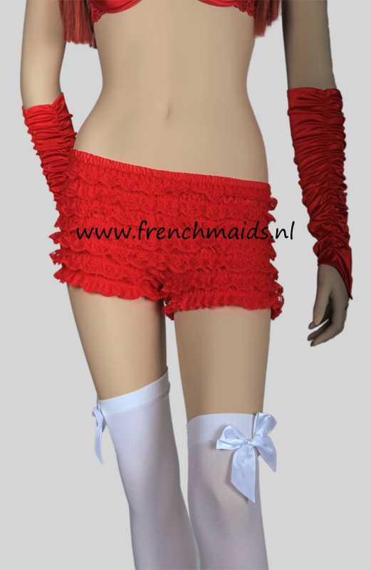 Panty Slip Frilly Lace for French Maids Costume - photo 7.