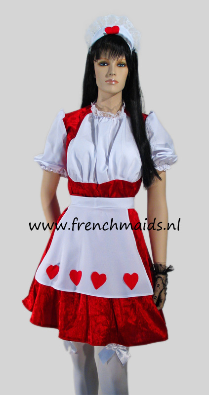 Flirty French Maid Costume from our Sexy French Maids Uniforms Collection - photo 1.