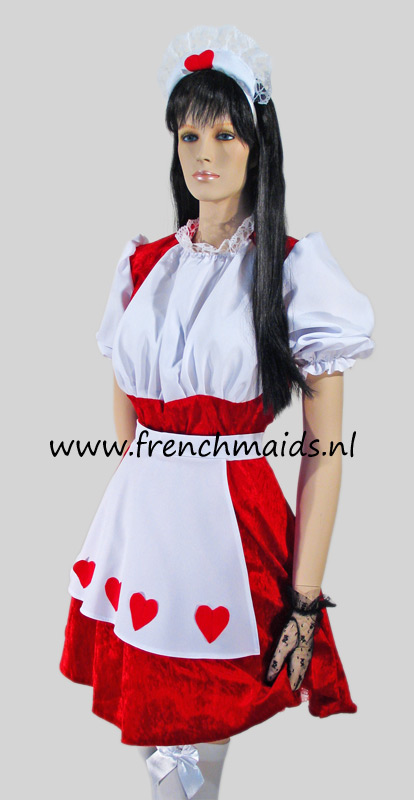 Flirty French Maid Costume from our Sexy French Maids Uniforms Collection - photo 12.