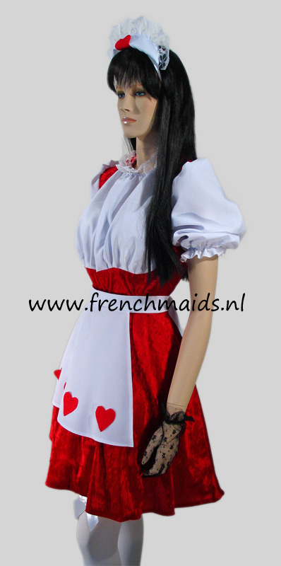 Flirty French Maid Costume from our Sexy French Maids Uniforms Collection - photo 2.