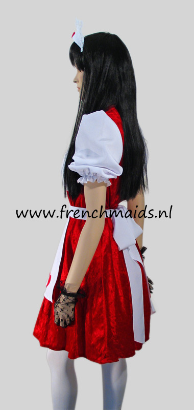Flirty French Maid Costume from our Sexy French Maids Uniforms Collection - photo 3.