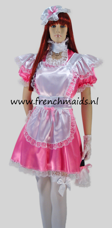 Pink Dream French Maid Costume from our Sexy French Maids Uniforms Collection - photo 1.