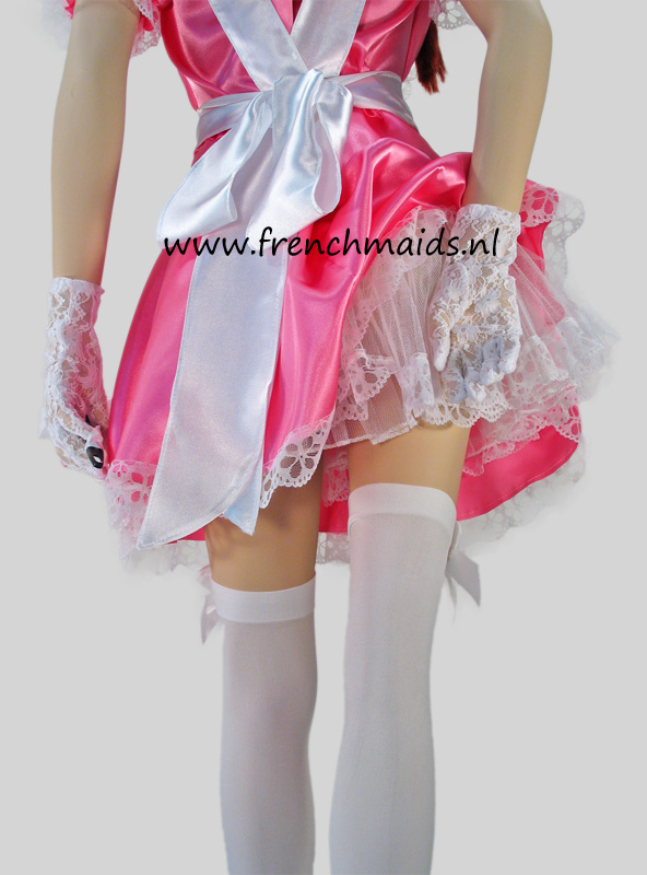 Pink Dream French Maid Costume from our Sexy French Maids Uniforms Collection - photo 15.