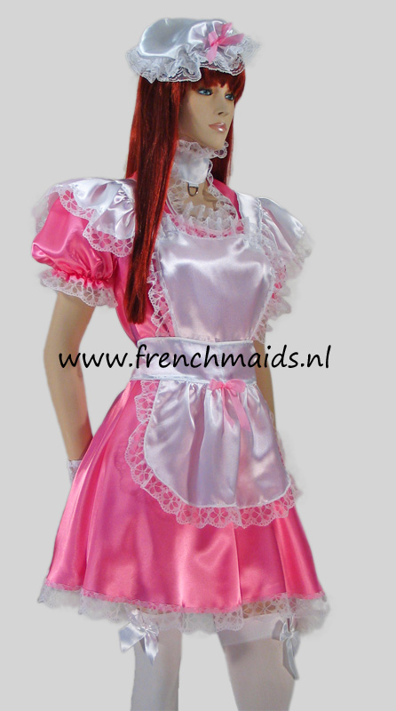Pink Dream French Maid Costume from our Sexy French Maids Uniforms Collection - photo 2.