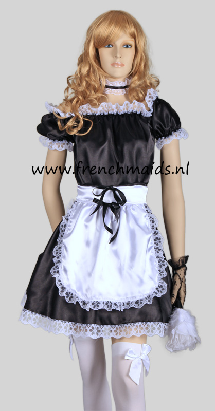 Hot Sexy French Maid Costume from our Sexy French Maids Uniforms Collection: photo 1.