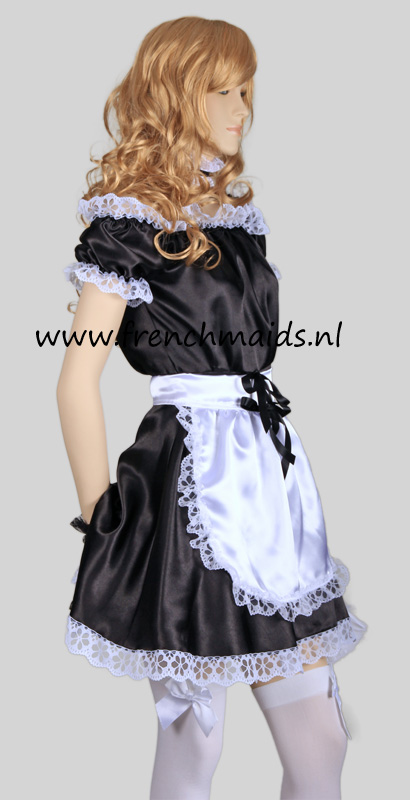 Hot Sexy French Maid Costume from our Sexy French Maids Uniforms Collection: photo 4.
