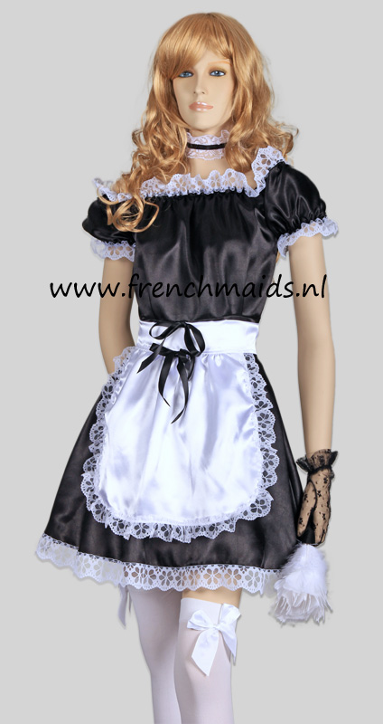Hot Sexy French Maid Costume from our Sexy French Maids Uniforms Collection: photo 6.