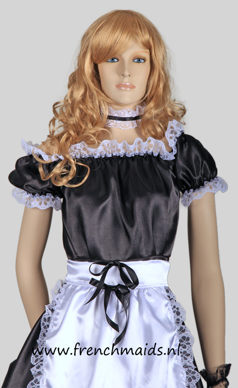 Hot Sexy French Maid Costume from our Sexy French Maids Uniforms Collection: photo 8.
