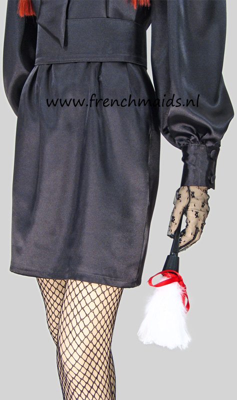 Mistress Delux French Maid Costume from our Sexy French Maids Uniforms Collection: photo 9.