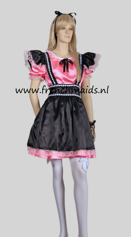 Naughty Sexy French Maid Costume from our Sexy French Maids Uniforms Collection: photo 1.