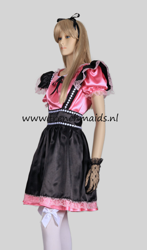 Naughty Sexy French Maid Costume from our Sexy French Maids Uniforms Collection: photo 3.
