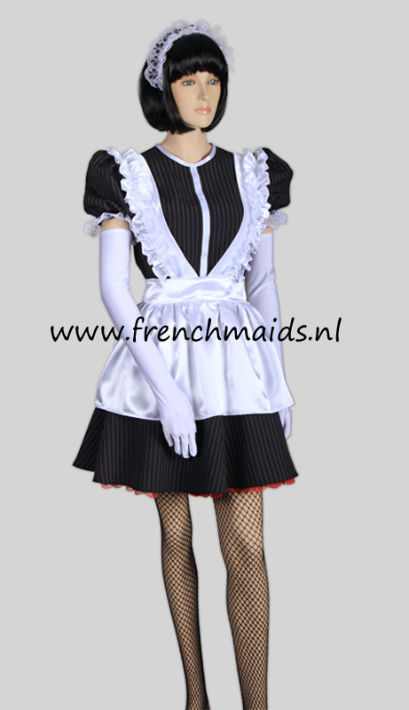 Night Service French Maid Costume from our Sexy French Maids Uniforms Collection: photo 1.