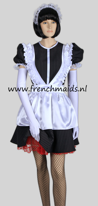 Night Service French Maid Costume from our Sexy French Maids Uniforms Collection: photo 13.