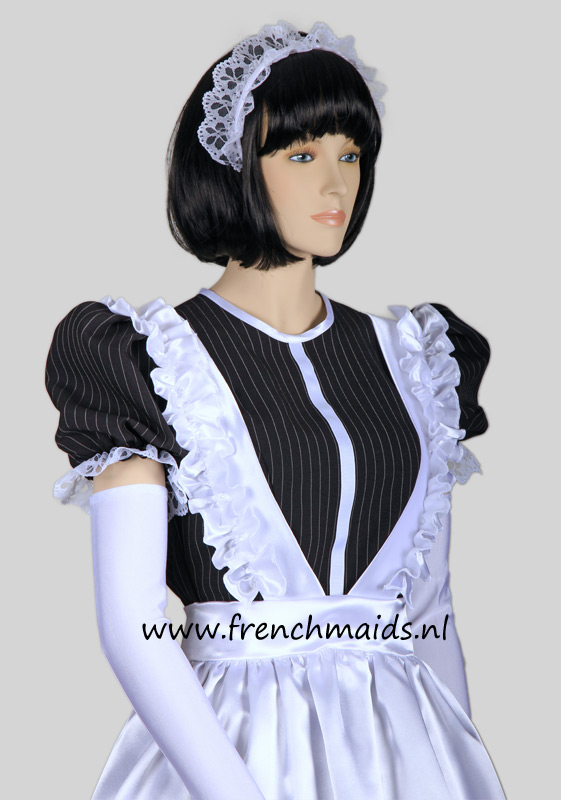 Night Service French Maid Costume from our Sexy French Maids Uniforms Collection: photo 7.