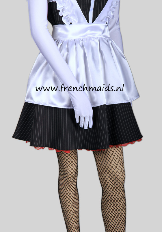 Night Service French Maid Costume from our Sexy French Maids Uniforms Collection: photo 8.