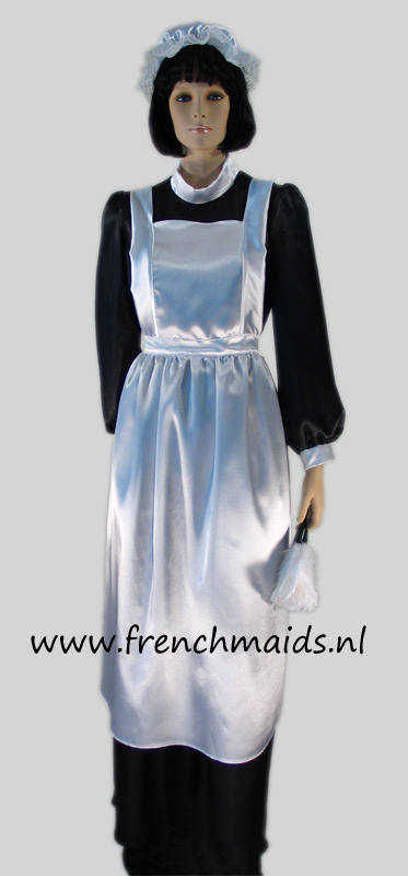French Charlotte Maid Costume from Victorian French Maids Costumes and Uniforms Collection by Frenchmaids.nl