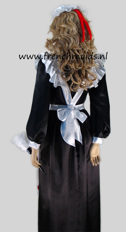 Victorian French Maid Costume from our Victorian French Maids Uniforms Collection: photo 4.