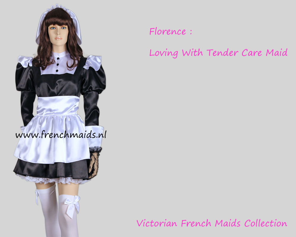 Florence Nightingale A Classic Victorian French Maid Uniform by Frenchmaids.nl