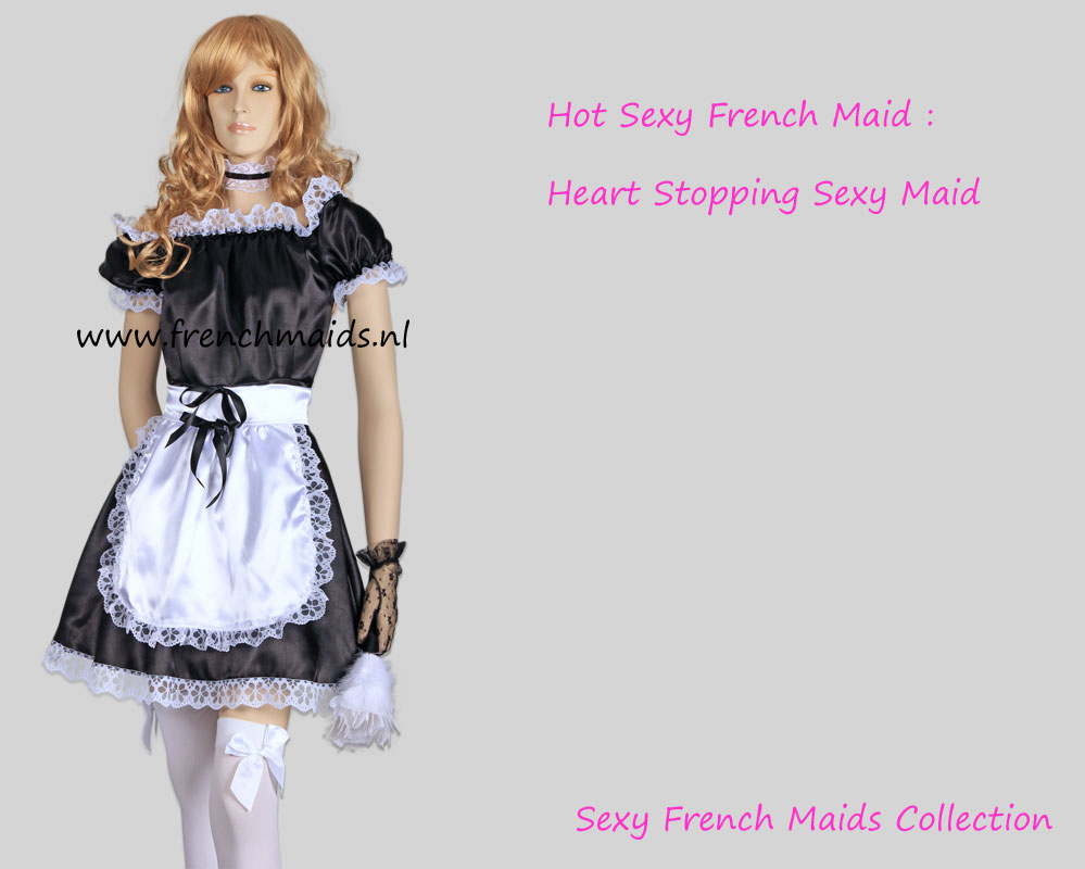 Hot Sexy French Maid Uniform by Frenchmaids.nl